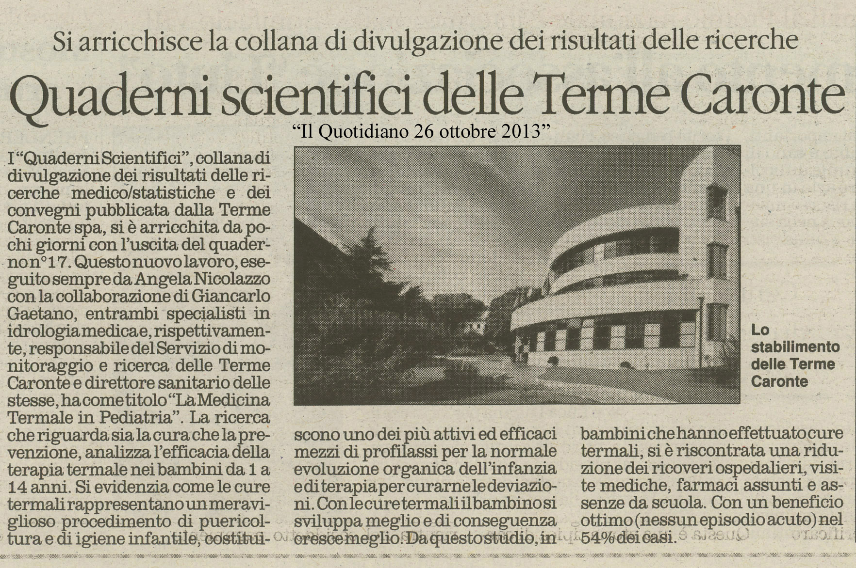Il Quotidiano 26.X.013 (1)